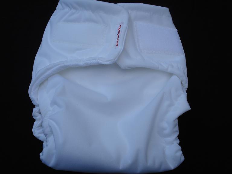 Diaper folded