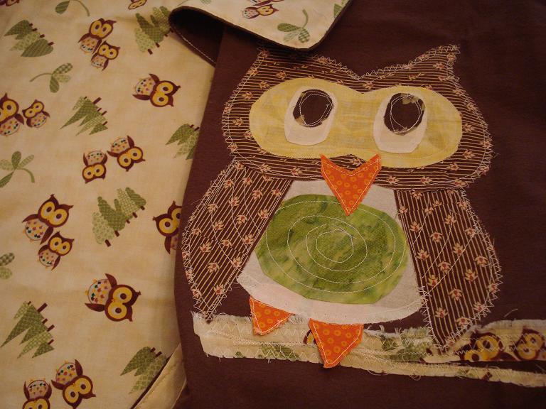 Owl blanket 4