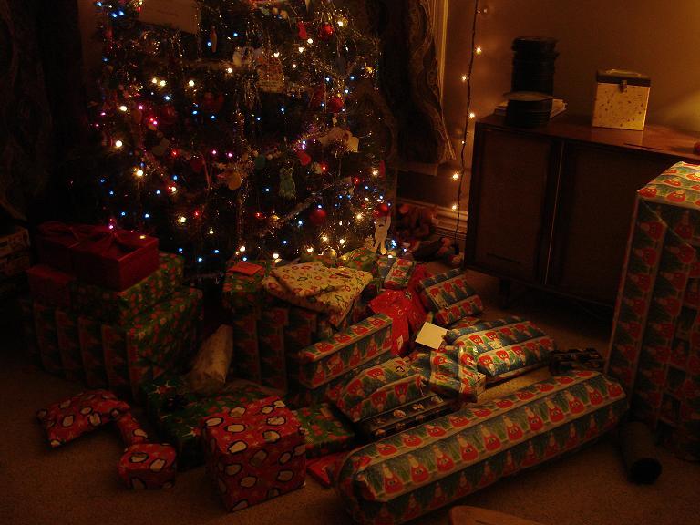 Lots o presents