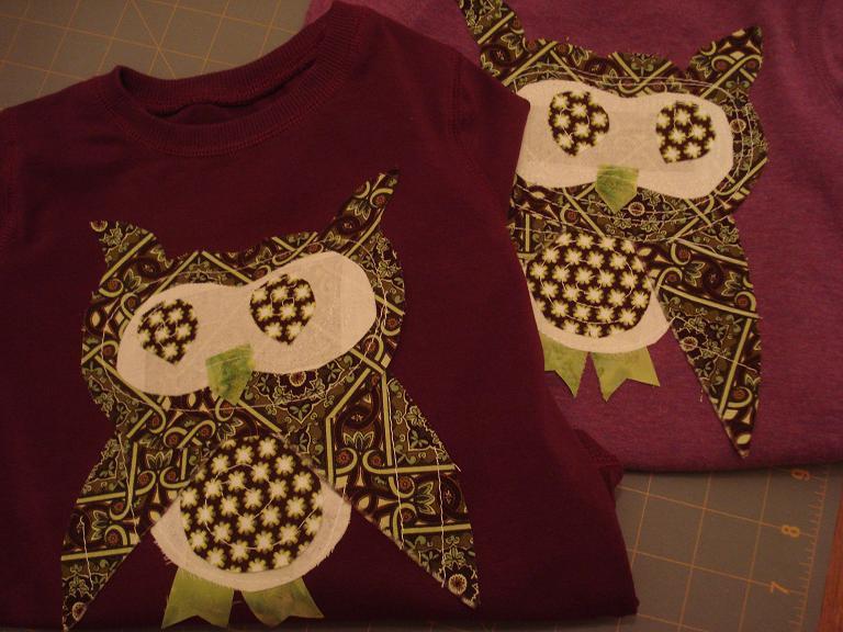 Custom owl shirt