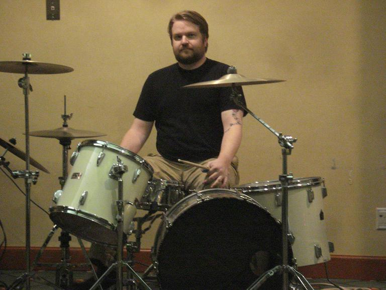 Millionaire on drums