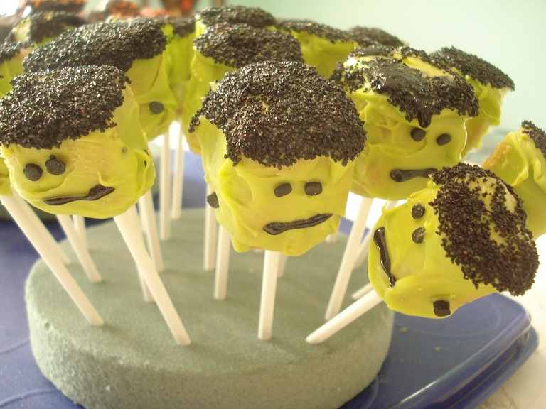 Cake balls 4th grade frankenstein