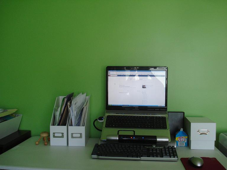 Office green after