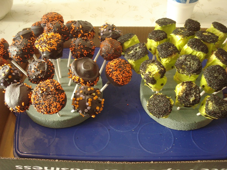 Cake balls 4th grade